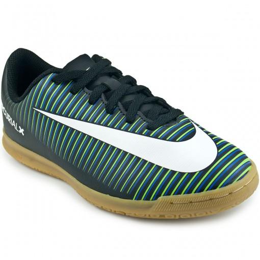 Chuteira Nike Mercurial Vortex III IC Jr 831953