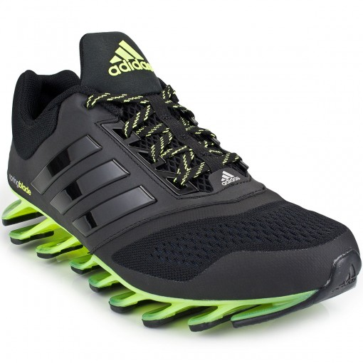 tenis adidas springblade verde e preto
