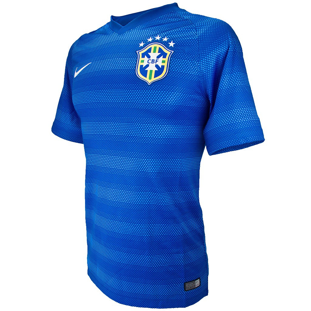 Camisa Nike Brasil CBF II Torcedor 2014 S/Nº 575282 2