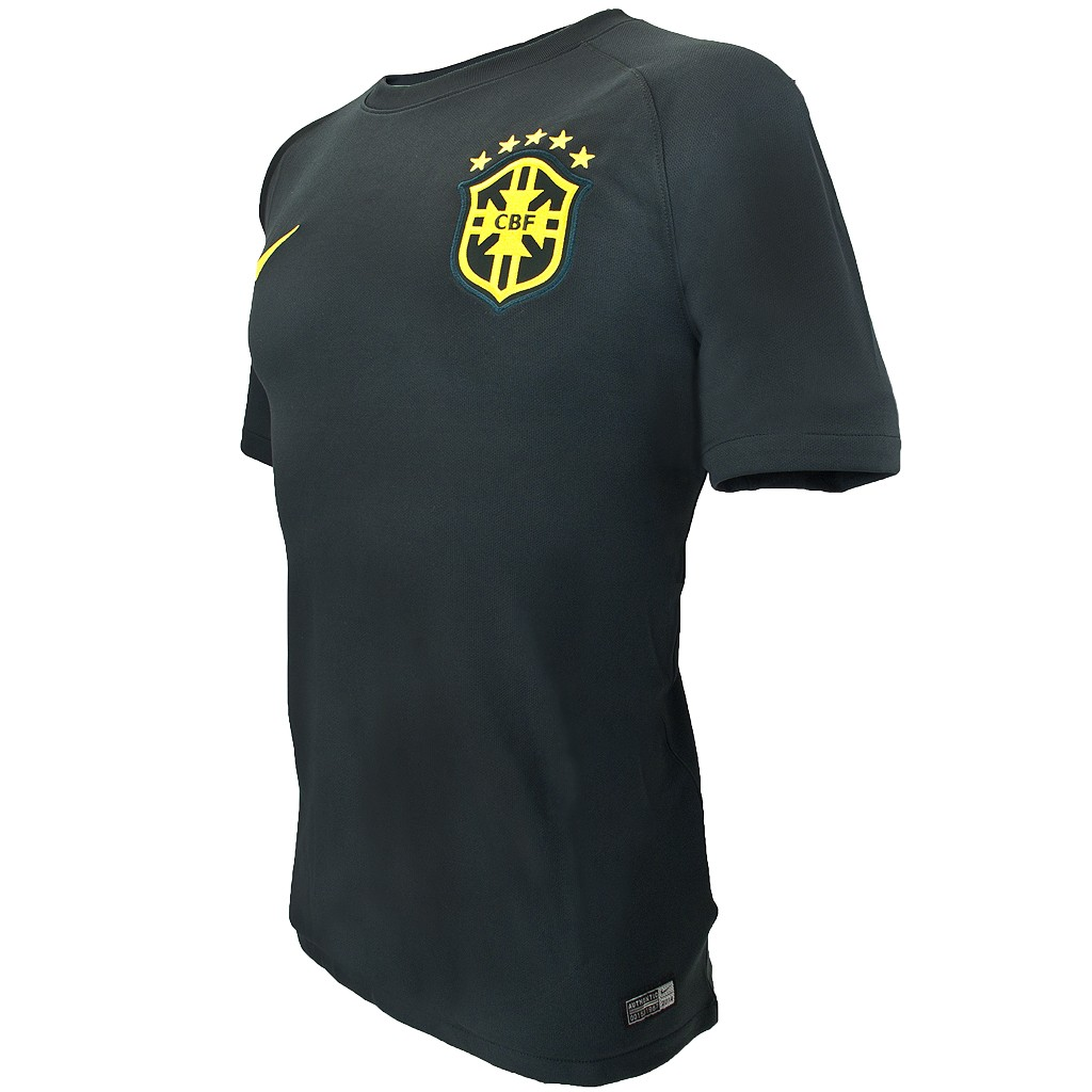 4ed12dc5c8 ... Camisa Nike Brasil CBF III Torcedor 2014 575284 ...