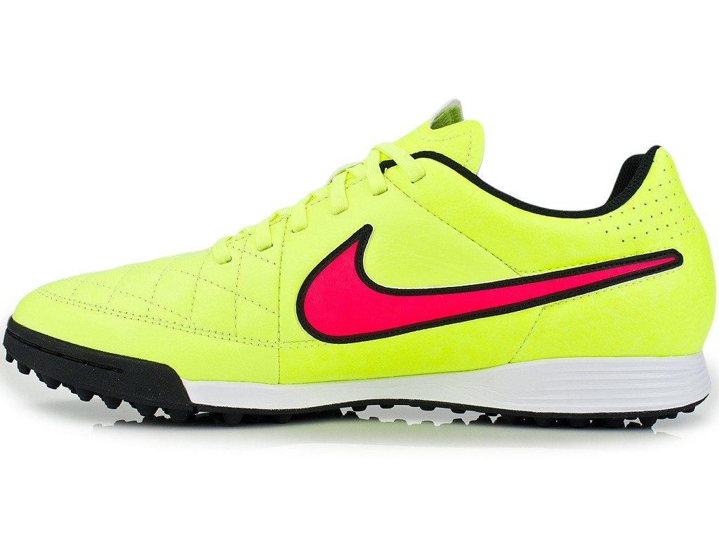 Chuteira Nike Tiempo Genio Leather TF 631284