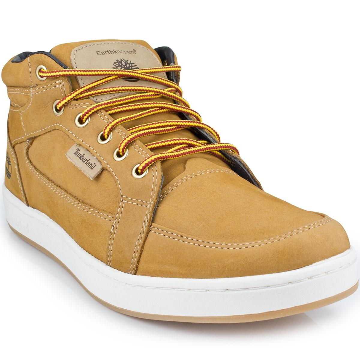 71c092bbdbf Bota Timberland EK Packer Leather Chukka 4133341