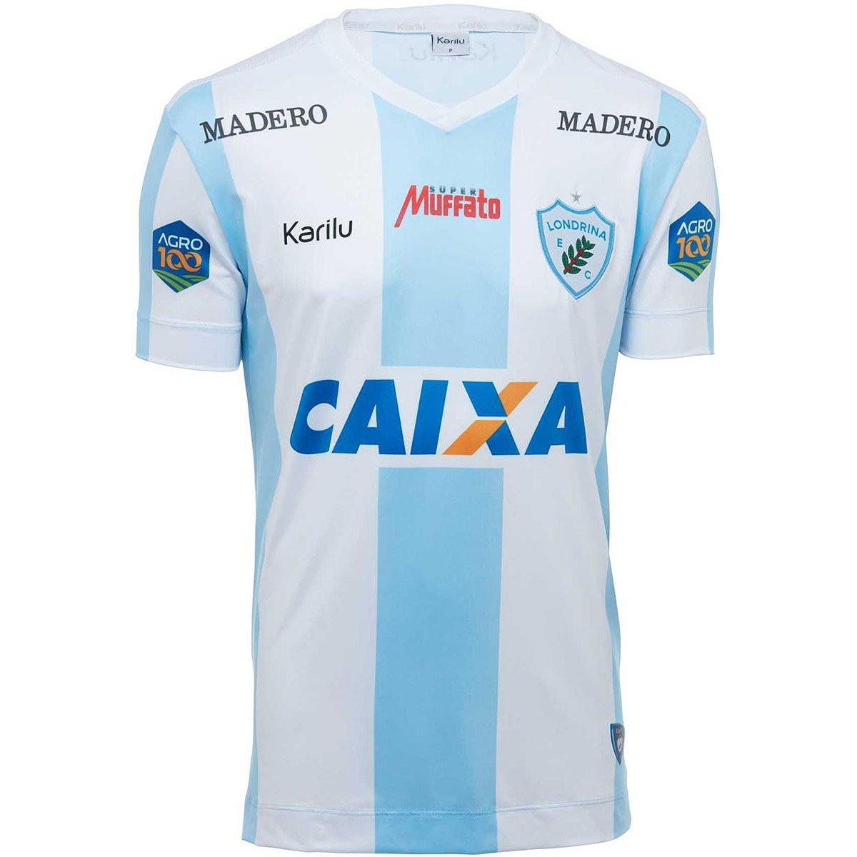 Camisa Karilu Londrina Oficial Brasileirão 2018  d6747bc967ac9