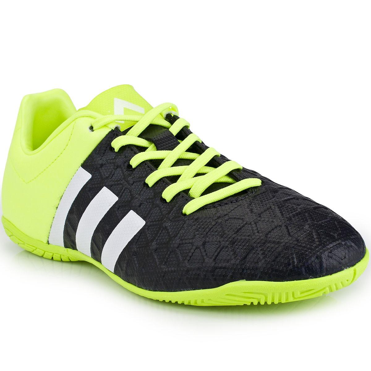 Chuteira Adidas Ace 15.4 IN Jr  afe400922c286