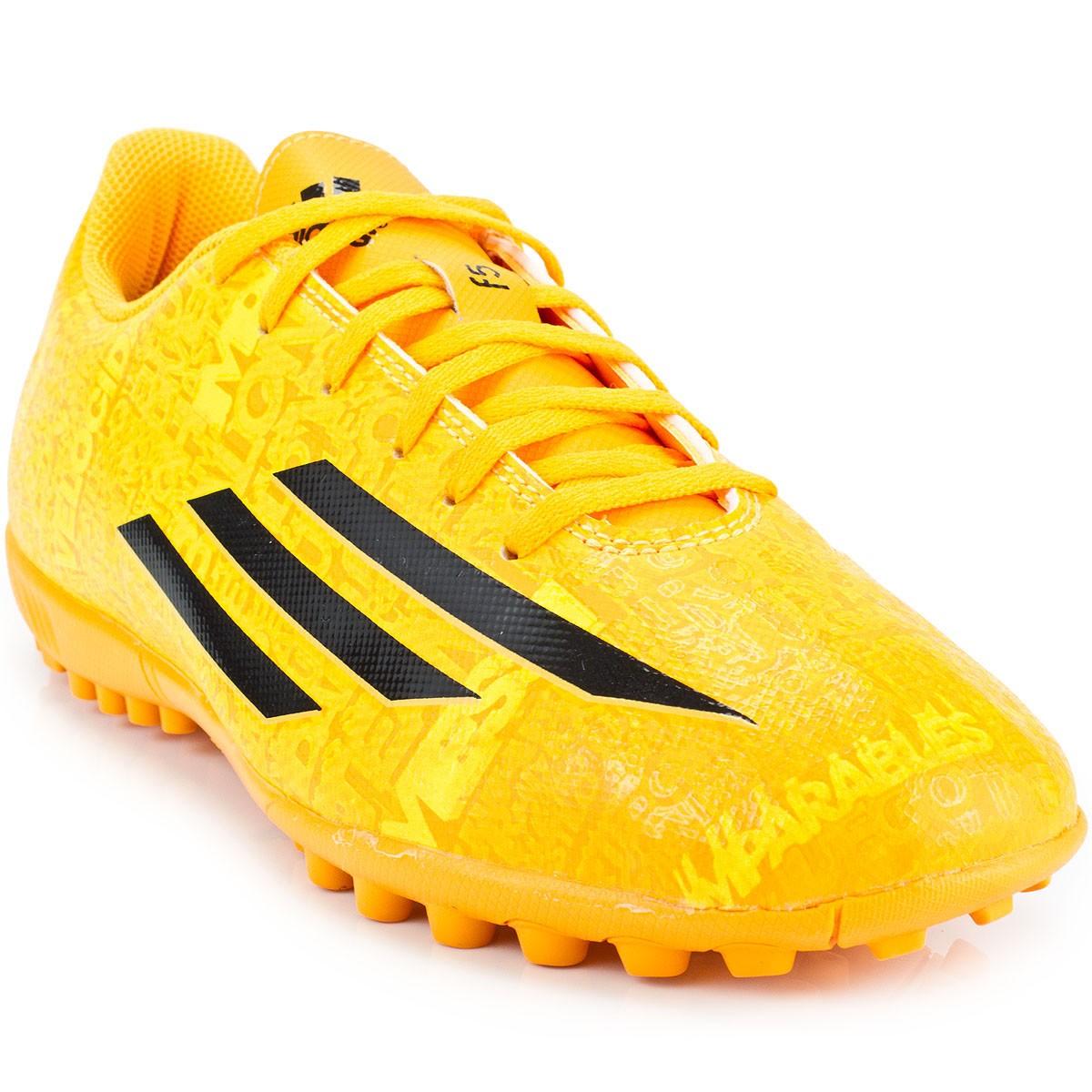 Chuteira Adidas Society F5 TF Messi  6f9b7b1ed1987
