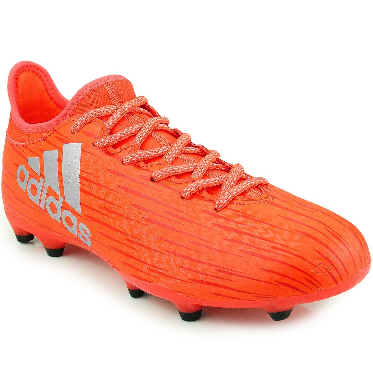 Chuteira Adidas X 16.3 FG  d56afd3d99aab