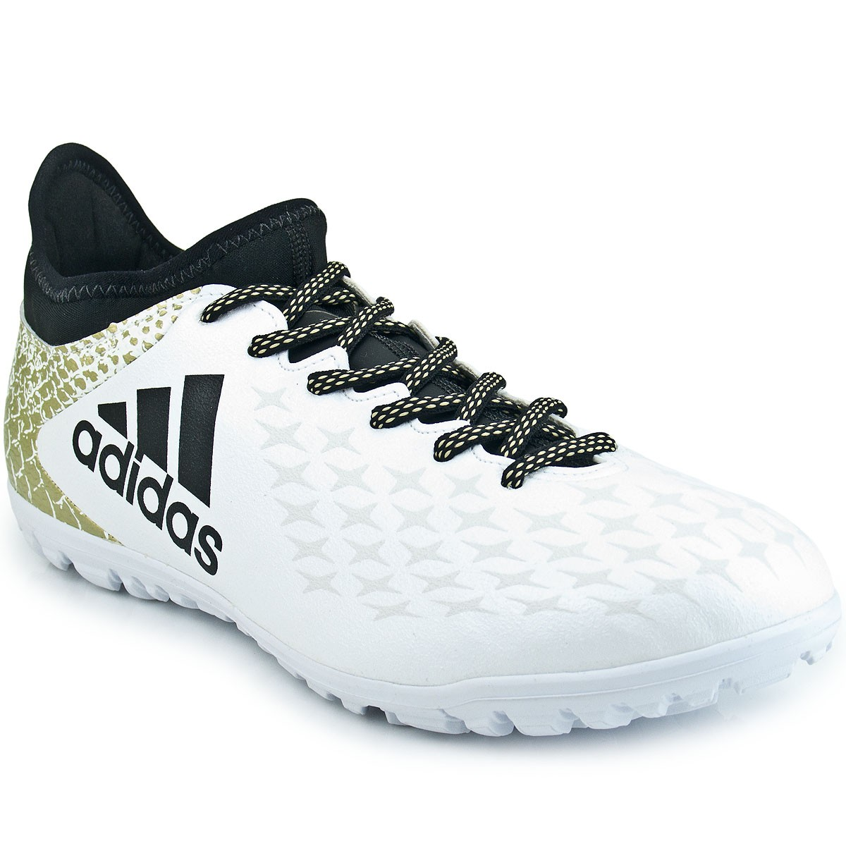 Chuteira Adidas X 16.3 TF  8878b3ee62969