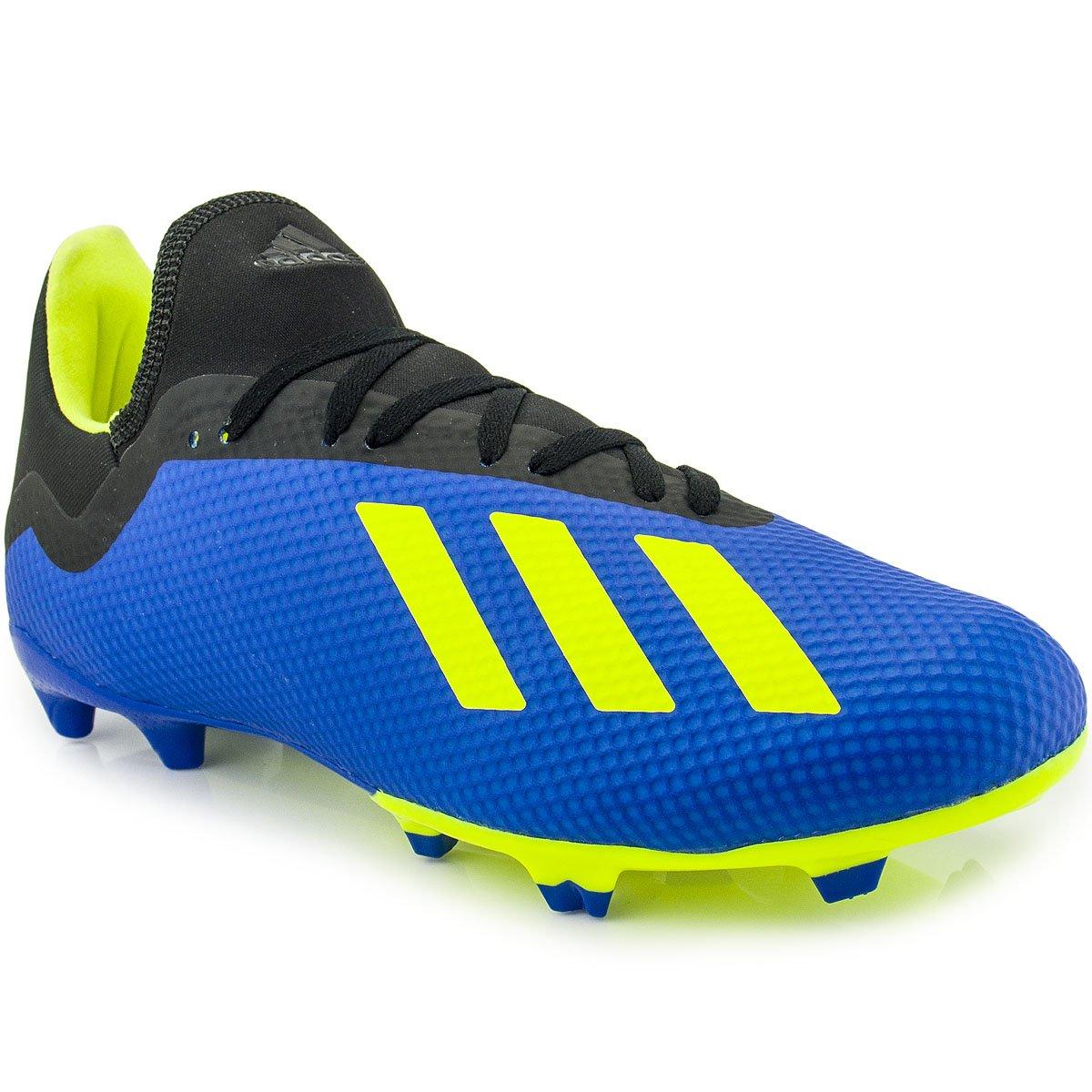 2039b5f71d6dd Chuteira Adidas X 18.3 FG   Futebol Campo   MaxTennis