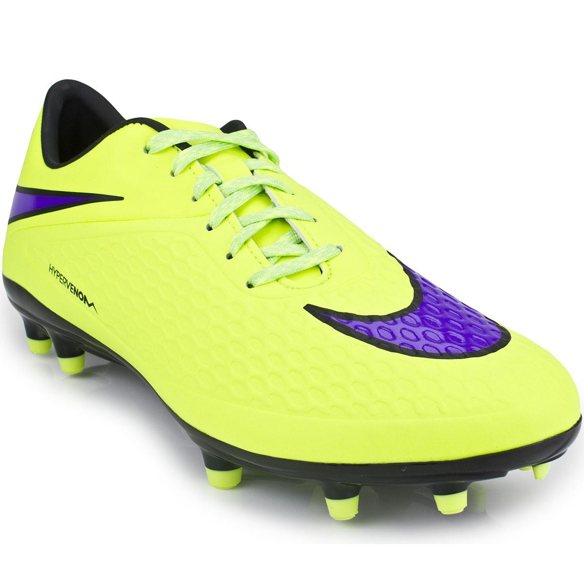Chuteira Nike Hypervenom Phelon FG 599730  a4ccebf7b9645