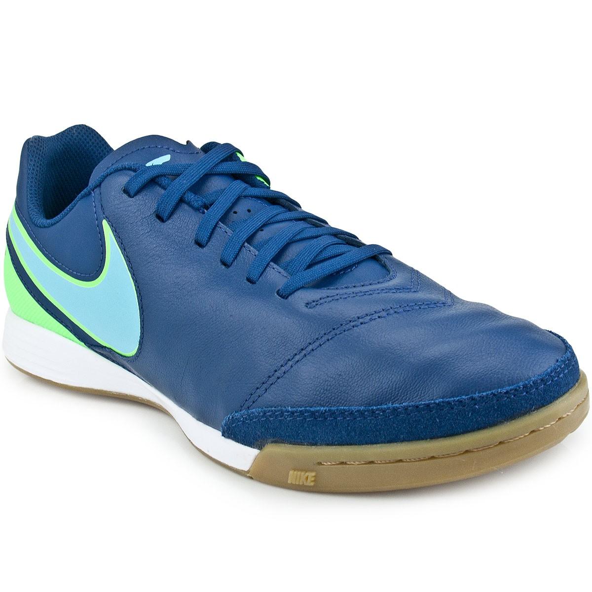99c153c202062 Chuteira Nike Tiempo Genio II Leather IC | Futsal | MaxTennis
