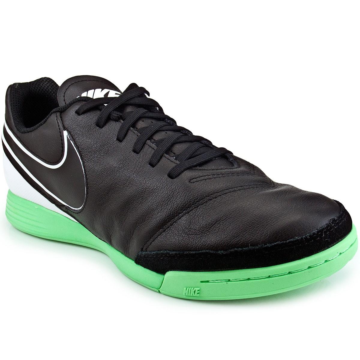 Chuteira Nike Tiempo Genio II Leather IC  34b4c78cb0ebc