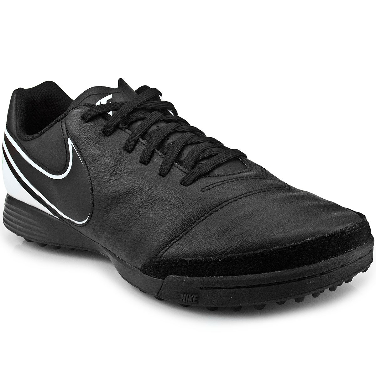 Chuteira Nike Tiempo Genio II Leather TF  ae158c1f5a154