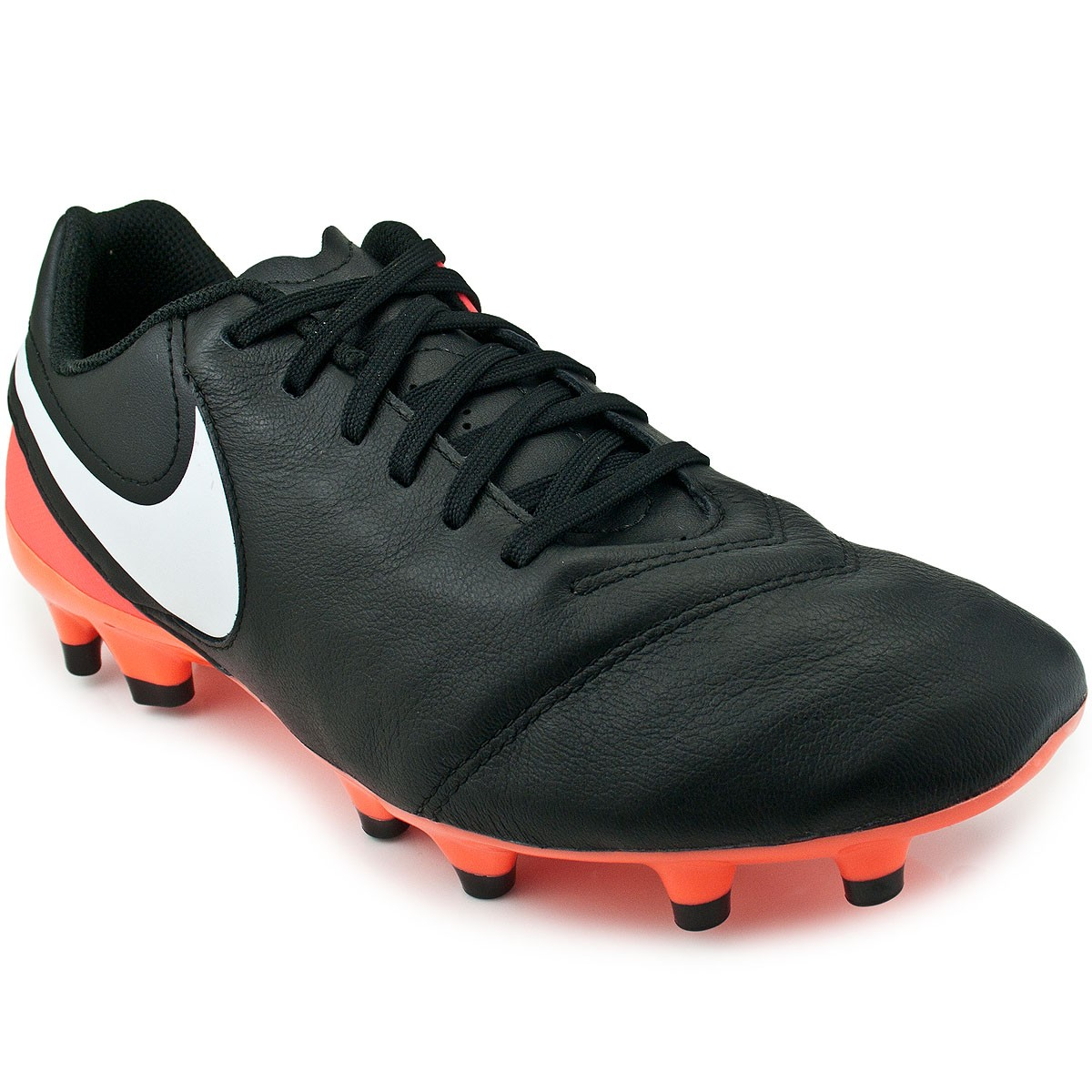 Chuteira Nike Tiempo Genio II Leather FG  be33a791df0ce