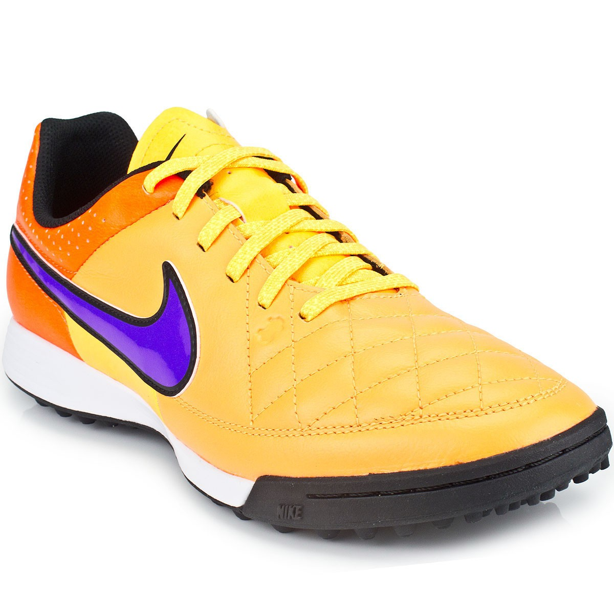 Chuteira Nike Tiempo Genio Leather TF 631284 3c01f7b696de1
