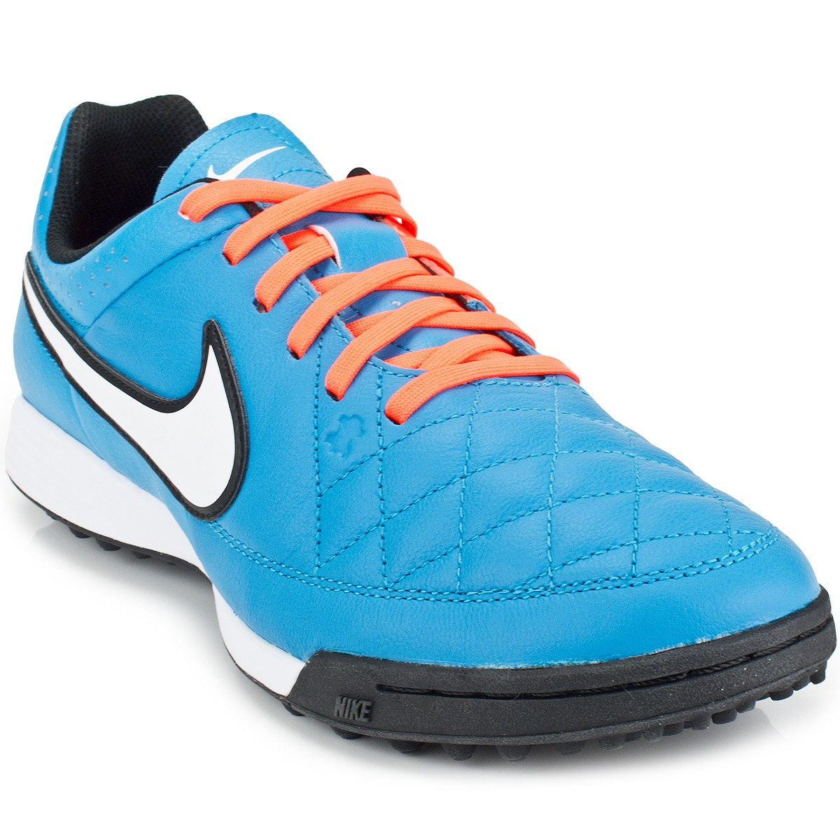Chuteira Nike Tiempo Genio Leather TF  e2337c3521afb