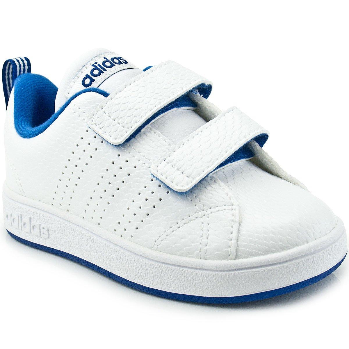 93e885783b4 Tênis Infantil Adidas Advantage VS Clean