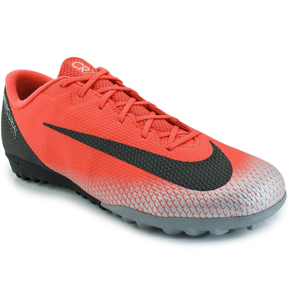 99b51dc588829 Chuteira Nike Mercurial Vapor X 12 Academy CR7 TF
