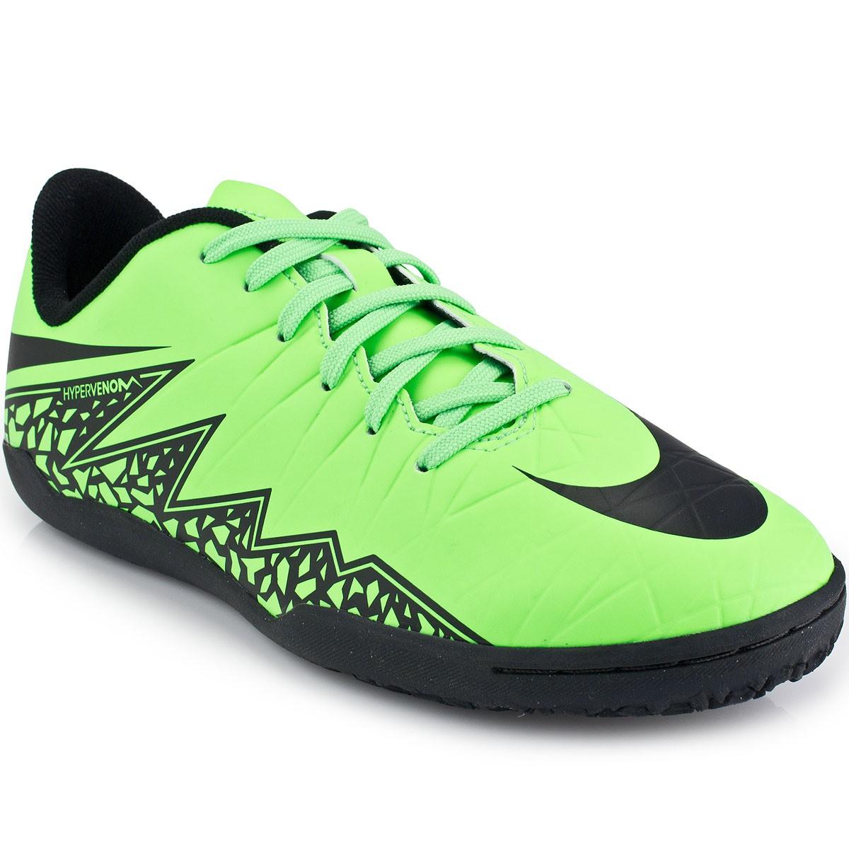 Chuteira Nike Hypervenom Phelon II IC Jr  9cd34be3b8e7d