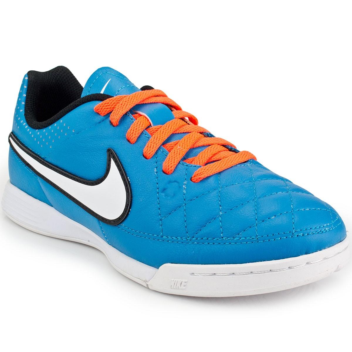 Chuteira Nike Tiempo Genio Leather IC Jr  4d52c8ef5c9b3