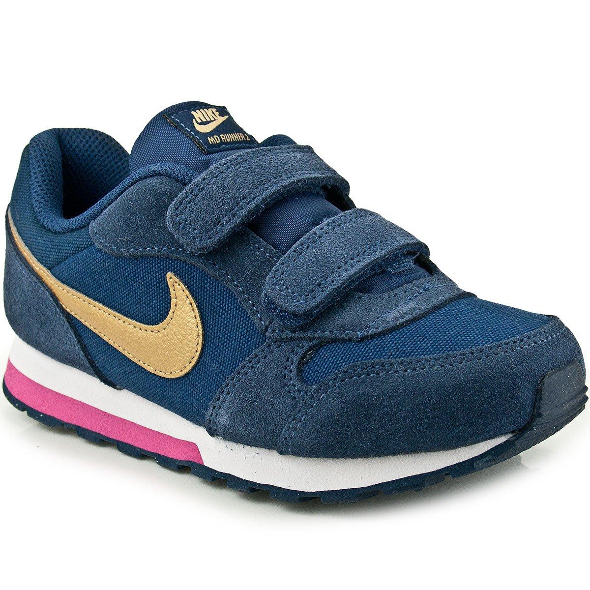 Tênis Infantil Nike MD Runner 2 PS 807320  1e11b6bba17e5