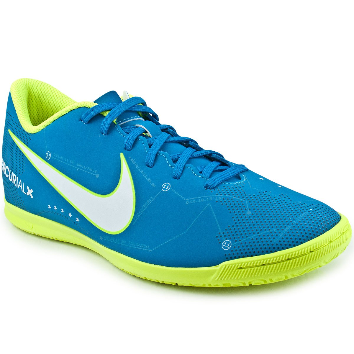 Chuteira Nike Mercurial Vortex III Neymar IC  4ce02777540e9