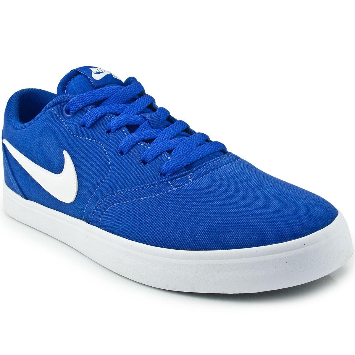 Tênis Nike SB Check Solar CNVS 843896  0c55bc0684d