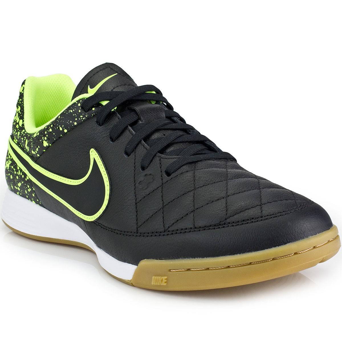 Chuteira Nike Tiempo Genio Leather IC  5e607031e3d22