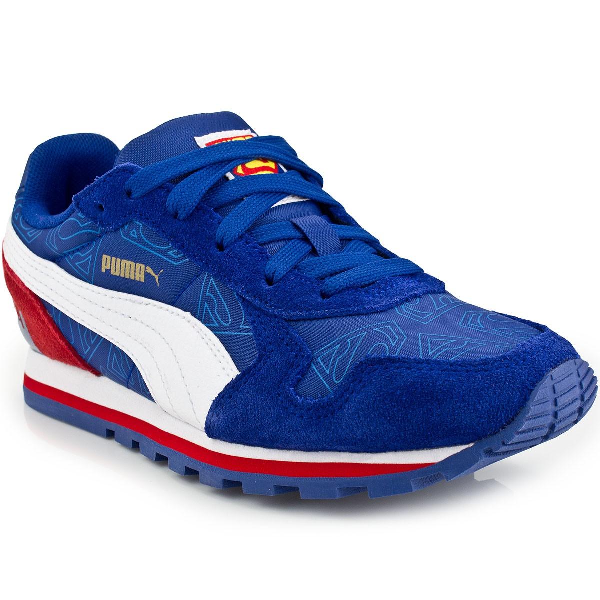 0704056cc Tênis Puma ST Runner Superman Infantil | Casual | MaxTennis