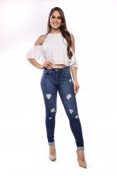 Imagem - calça jeans feminina detonada  - 170331