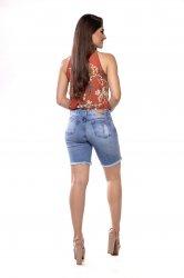 Imagem - short ciclista jeans detonado - 200365