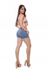 Imagem - short curto jeans desfiado + detonado - 200369