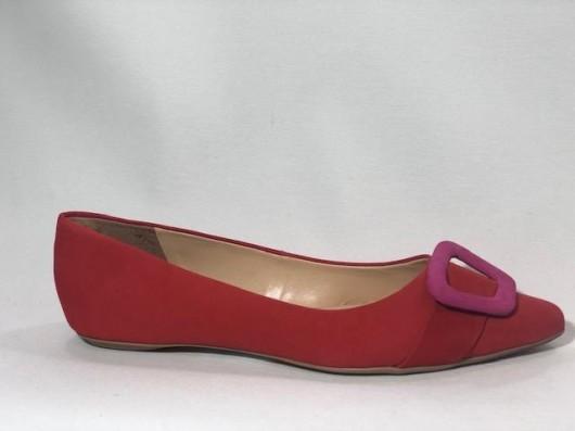 Sapatilha Bicolor Nobuck Fiv Pink