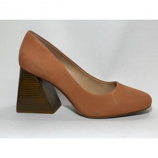 Sapato Quadrado Alto