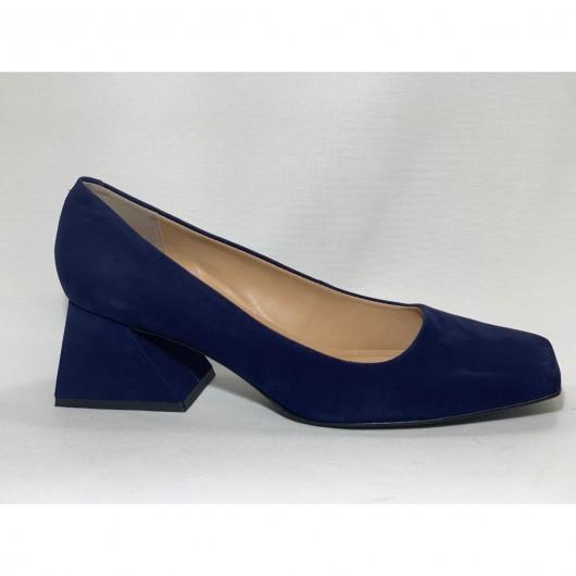 Sapato Quadrado Baixo