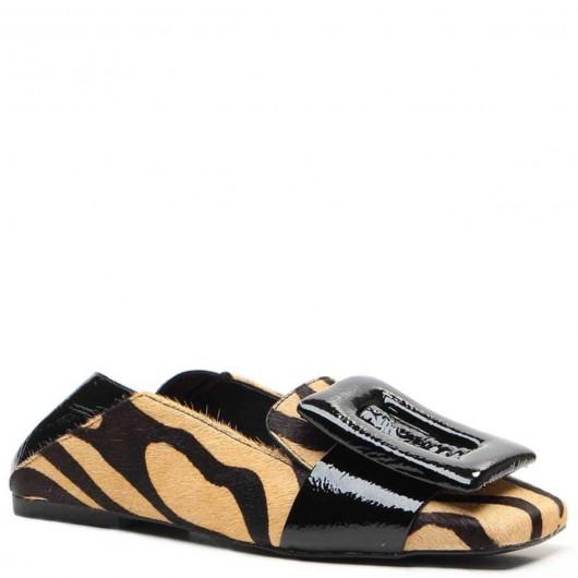 Loafer Fivela Pelo  Vicenza