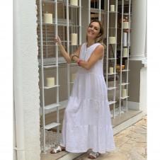 Imagem - Vestido Regata  Puro Linho .ref: 1.24767