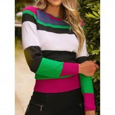 Imagem - Blusa Listas Color .ref: 1.24197
