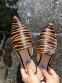 Mule Tigre Caramelo Preto 2