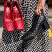 Sapato Matelasse Vermelho Tabita 2