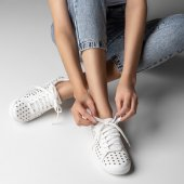 Tenis Furinhos Branco Carrano