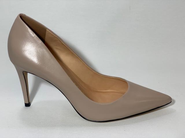 d1b2770ca Scarpin Liso Salto Alto Carrano 146701C - CREME - Mercado do Sapato