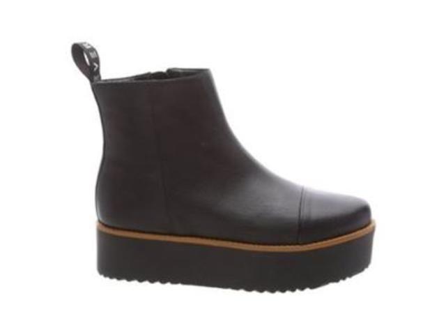 1b1abe629 Bota Curta Fiever Flatform F6005800060001 - Preto - Mercado do Sapato