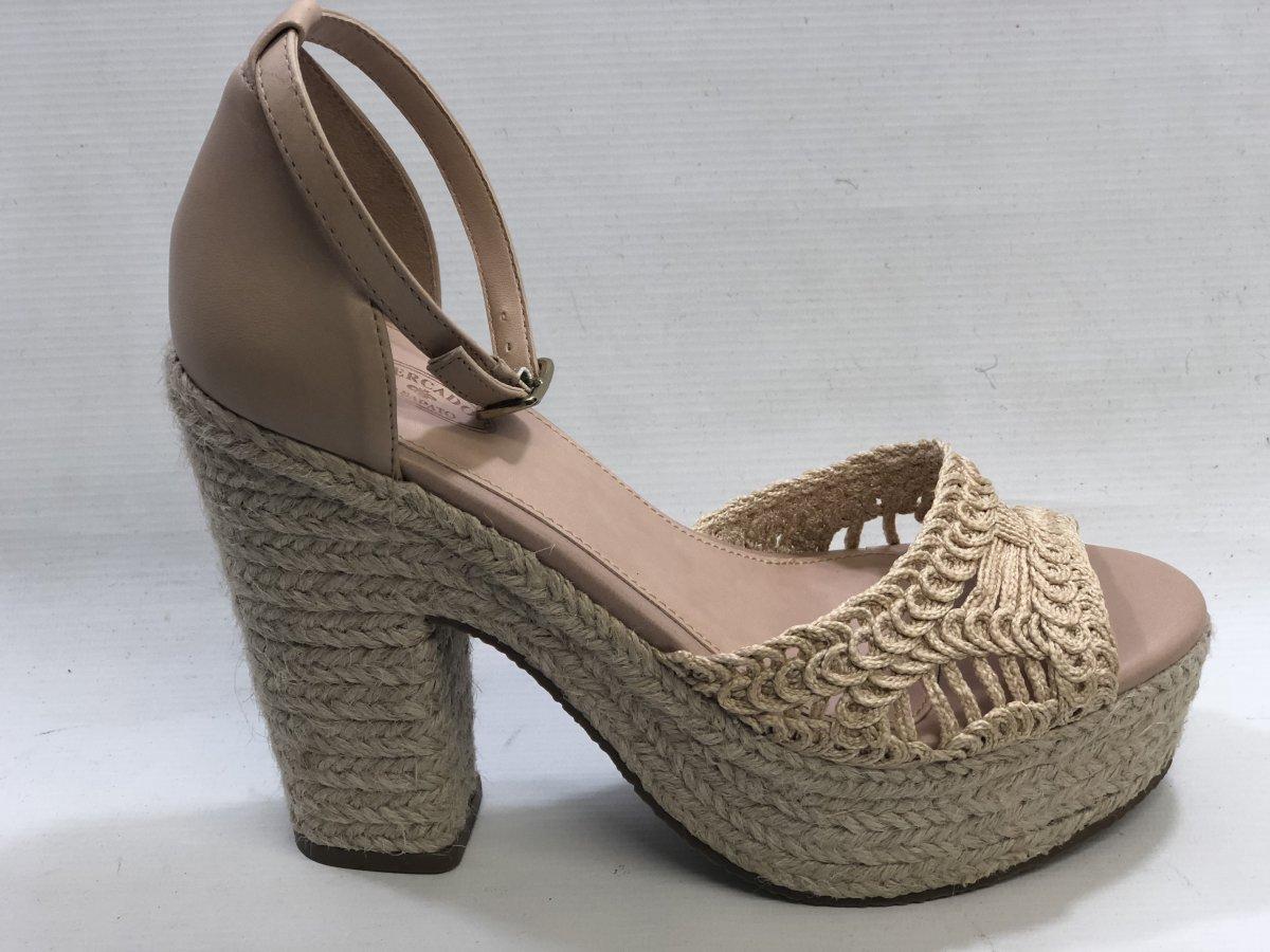 1ae37daedc Sandalia Meia Pata Croche 168.1399 - NUDE - Mercado do Sapato