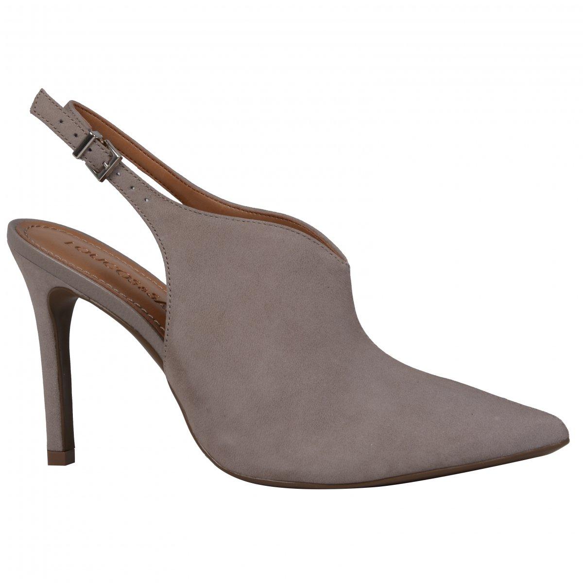 2a0cf4e4e5 sapato liso salto alto Loucos   santos L41164039A01 - TAN - Mercado ...