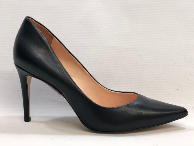 cceaf22f8 Scarpin Liso Salto Alto Carrano 146701C - PRETO - Mercado do Sapato