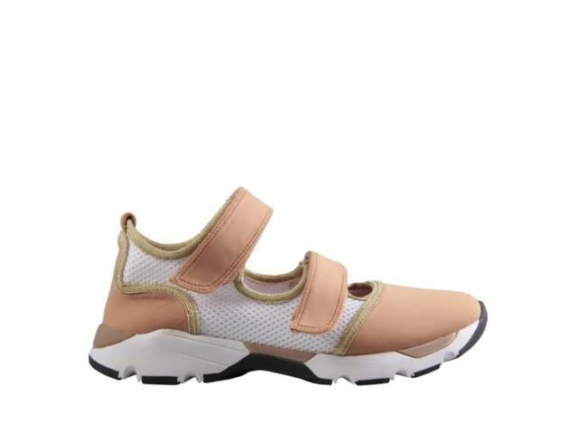 37478043a TÊNIS ABERTO VELCRO CARRANO 140901 - NUDE - Mercado do Sapato