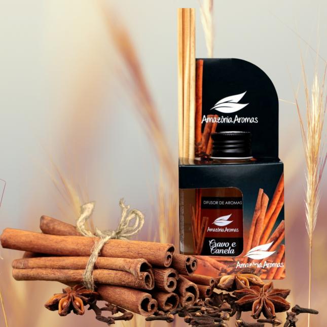 Aromatizador Difusor de Aromas com Vareta Bambu