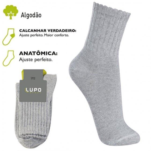 Meia Lupo Sport Cano Médio