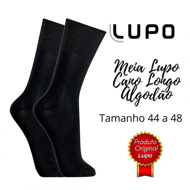 Meia Lupo Sportwear Tamanho Grande