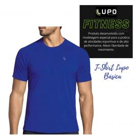 Imagem - Camiseta Masculina Lupo Sport Basic